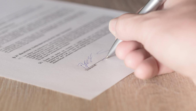 Parakstīta nodoma vienošanās